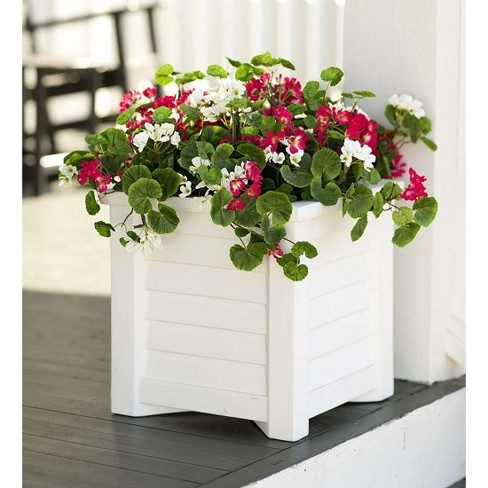 Red And White Geranium Urn Or Planter Filler - Plow & Hearth - image 1 of 1