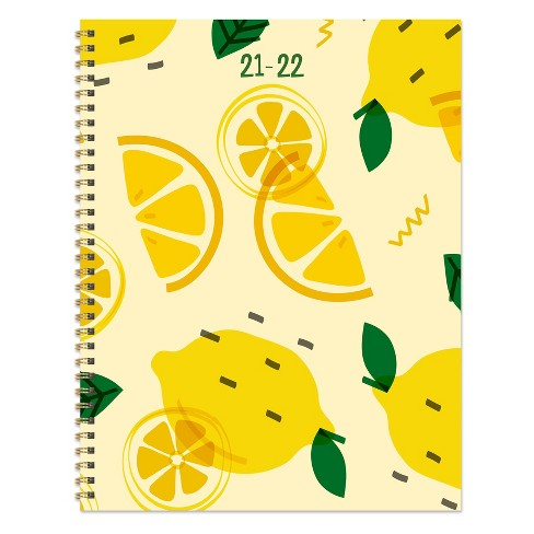 """2021-22 Academic Planner 8.5"""" x 11"""" Make Lemonade Daily/Weekly/Monthly - The Time Factory - image 1 of 4"""