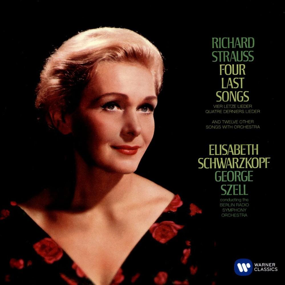 Elisabe Schwarzkopf - Strauss:Vier Lezte Lieder 12 Orchestr (CD)