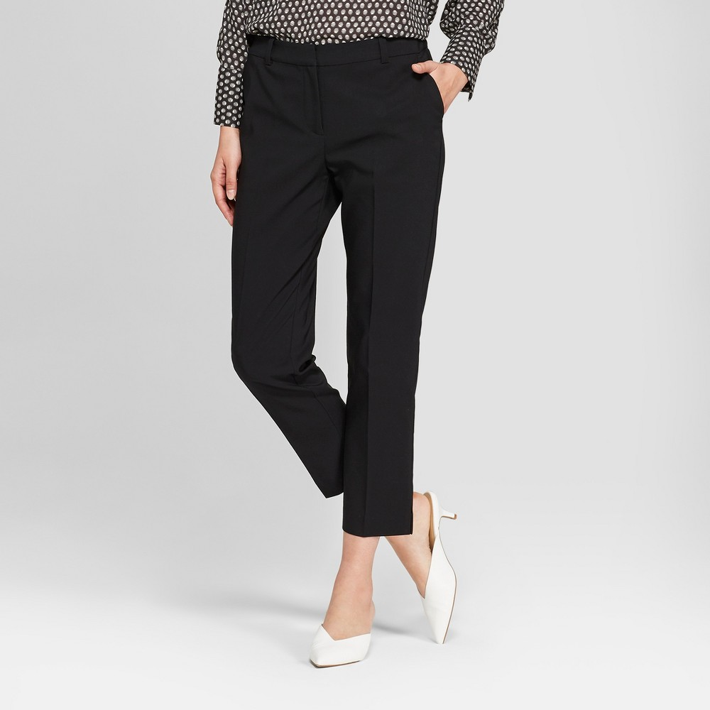 Women's Straight Leg Ankle Length Trouser - Prologue Black 12