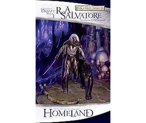 Homeland : The Legend of Drizzt (The Dark Elf Trilogy) (Reprint) (Paperback) (R. A. Salvatore) - image 1 of 1