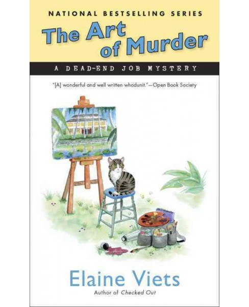 Art of Murder (Paperback) (Elaine Viets) - image 1 of 1