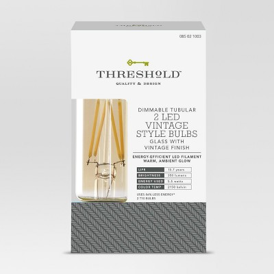 LED Vintage Lumens - Threshold™