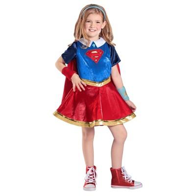 DC Comics Super Hero Girls Premium Supergirl Halloween Costume   Princess  Paradise