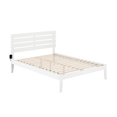 Oxford Bed with USB Turbo Charger - Atlantic Furniture