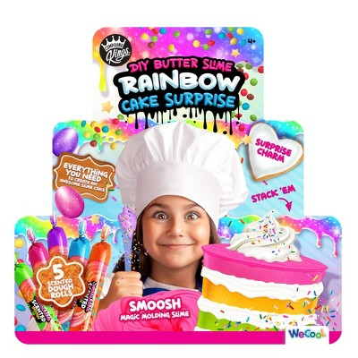 Compound Kings DIY Butter Slime Rainbow Cake Surprise