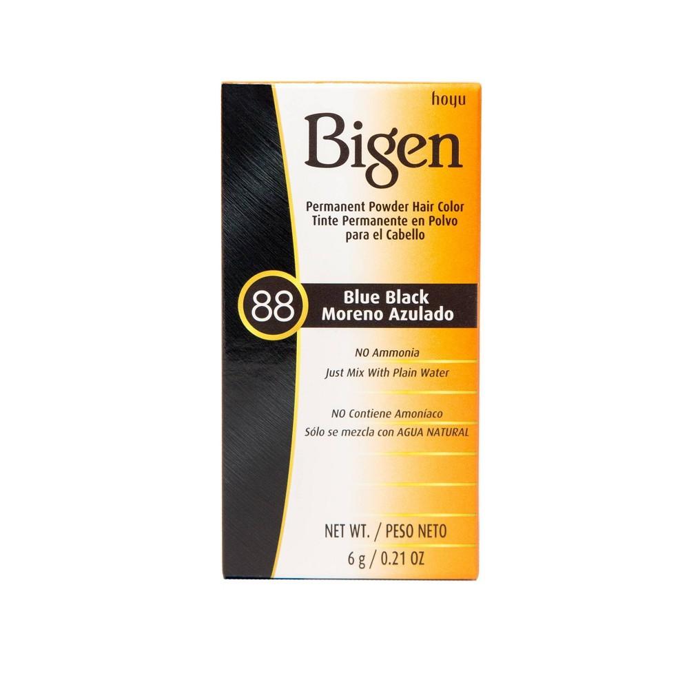 Image of Bigen Permanent Powder Hair Color - 88 Blue Black - 0.21oz