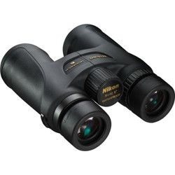 Nikon 8x42 Monarch 7 All Terrain Water Proof Roof Prism Binocular with 8.0 Degree Angle of View, Black, U.S.A.