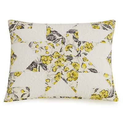Hummingbird Blooms Star Pillow Sham - Vera Bradley