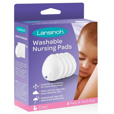 Lansinoh Washable Nursing Pads - 4ct