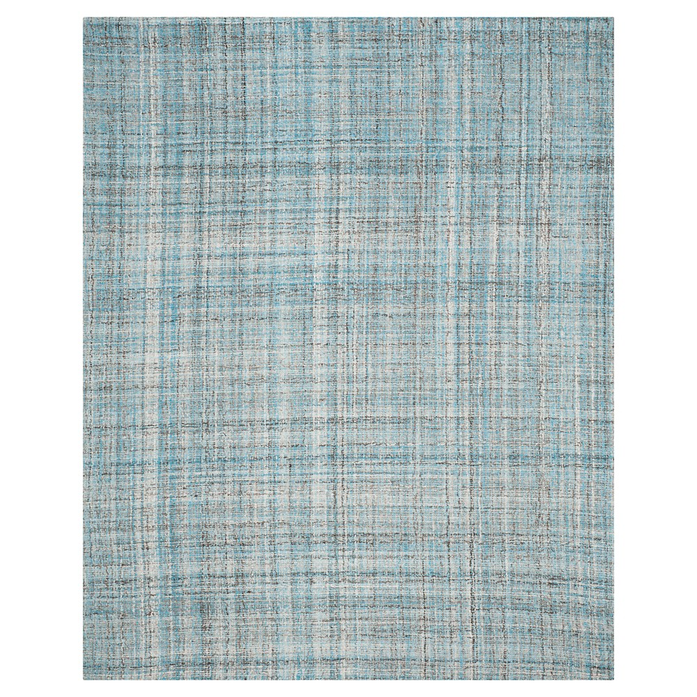 Blue/Multicolor Abstract Tufted Area Rug - (8'X10') - Safavieh, Blue/Multi