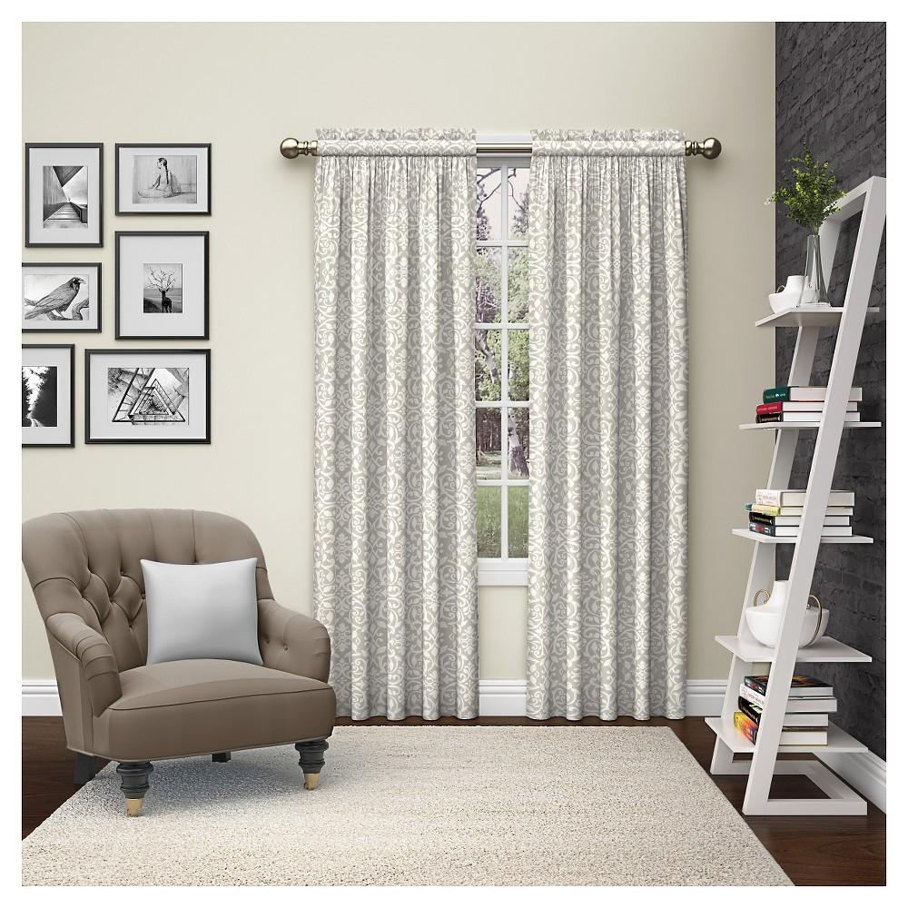 2 Piece Pinkney Curtain Panels Tan (28