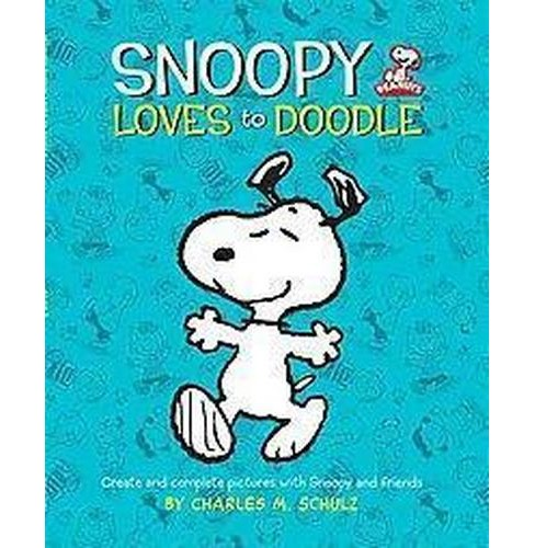Snoopy Loves to Doodle : Create and Complete Pictures with the Peanuts Gang (Paperback) - image 1 of 1