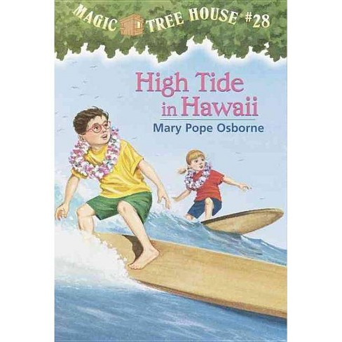 High Tide in Hawaii - (Magic Tree House) by  Mary Pope Osborne (Hardcover) - image 1 of 1