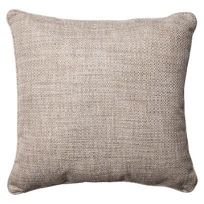 Pillow Perfect Tweak Mica Throw Pillow - Gray (18 )