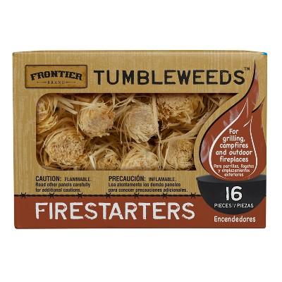 Frontier Tumbleweeds Fire Starters - 16ct