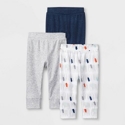 Baby 3pk Little Peanut Pull-On Pants - Cloud Island™