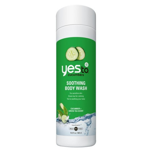 Yes to Cucumber Soothing Body Wash - 16.9 fl oz - image 1 of 1