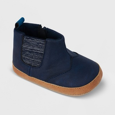 Ro+Me by Robeez Baby Boys' Julian Boots - Navy 6-12M