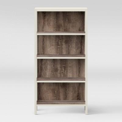 Hadley 64  4 Shelf Bookcase - Shell - Threshold™