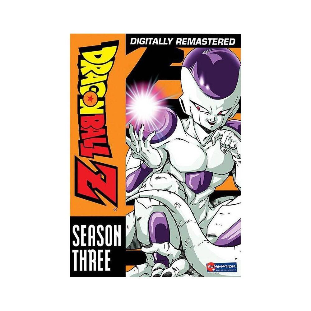 Dragonball Z Season Three Dvd