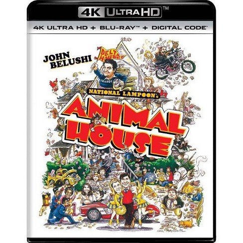 Animal House (SteelBook) (4K/UHD + Blu-ray + Digital) - image 1 of 3