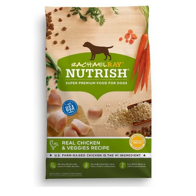 Rachael Ray Nutrish Real Chicken & Veggies Recipe Super Premium Dry Dog Food - 40lbs