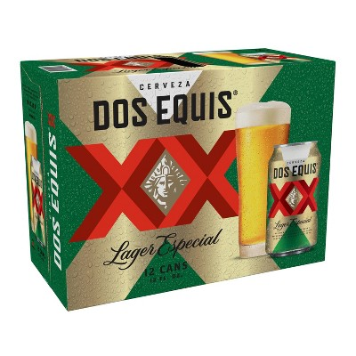 Dos Equis Mexican Lager Beer - 12pk/12 fl oz Cans
