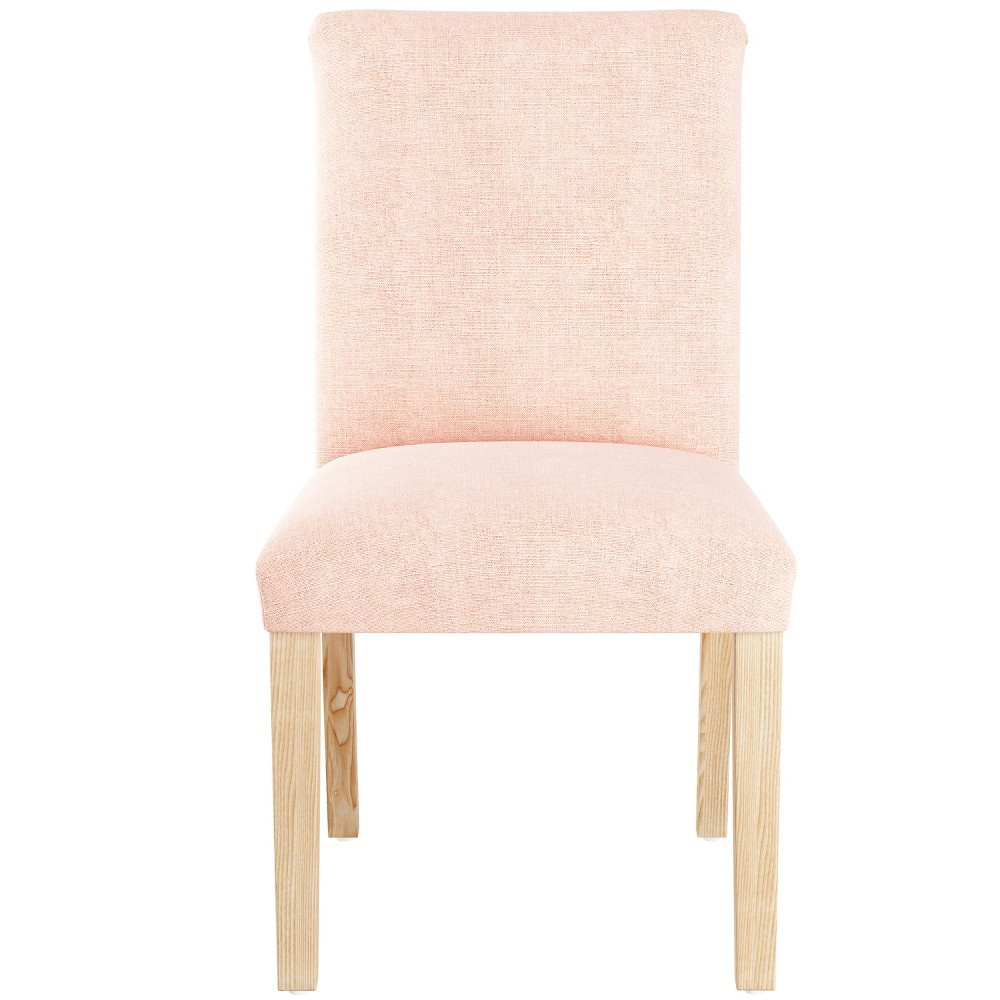Super Parsons Dining Chair Linen Petal With Natural Legs Threshold Ncnpc Chair Design For Home Ncnpcorg