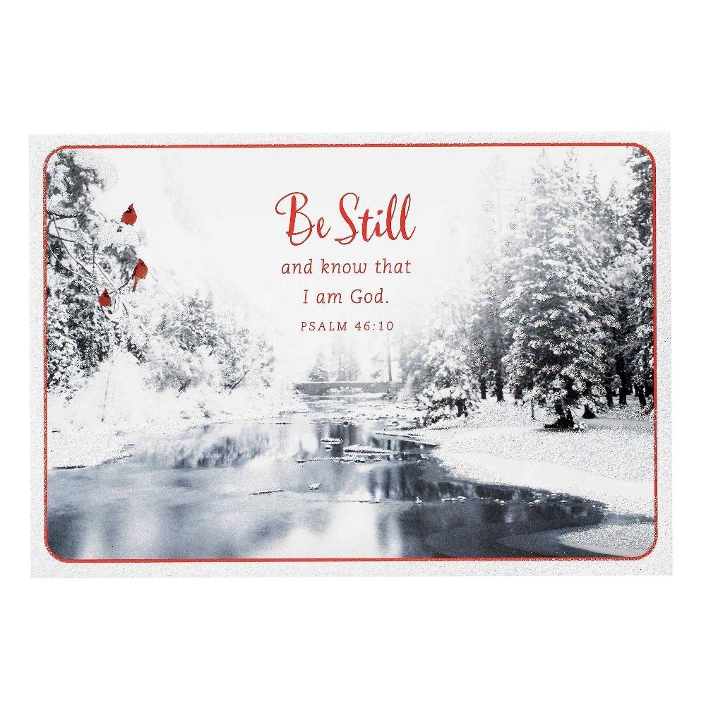 Image of 14ct Be Still And Know Greeting Cards - Dayspring