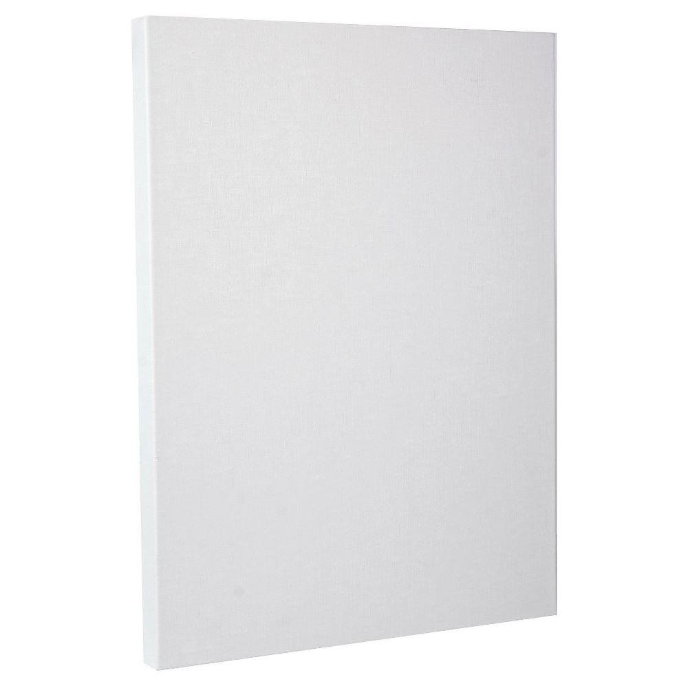 Fredrix Pro Belgian Linen Pre-Stretched Canvas, 14x18, White