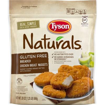 Tyson Gluten Free Chicken Nuggets - Frozen - 20oz