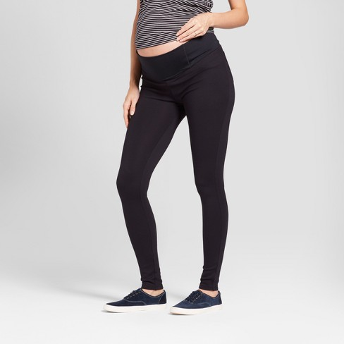 f17daf687bb2f Maternity Crossover Panel Ponte Pants - Isabel Maternity by Ingrid & Isabel™