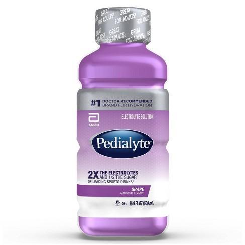 Pedialyte Electrolyte Solution Grape 16 9 Fl Oz Target