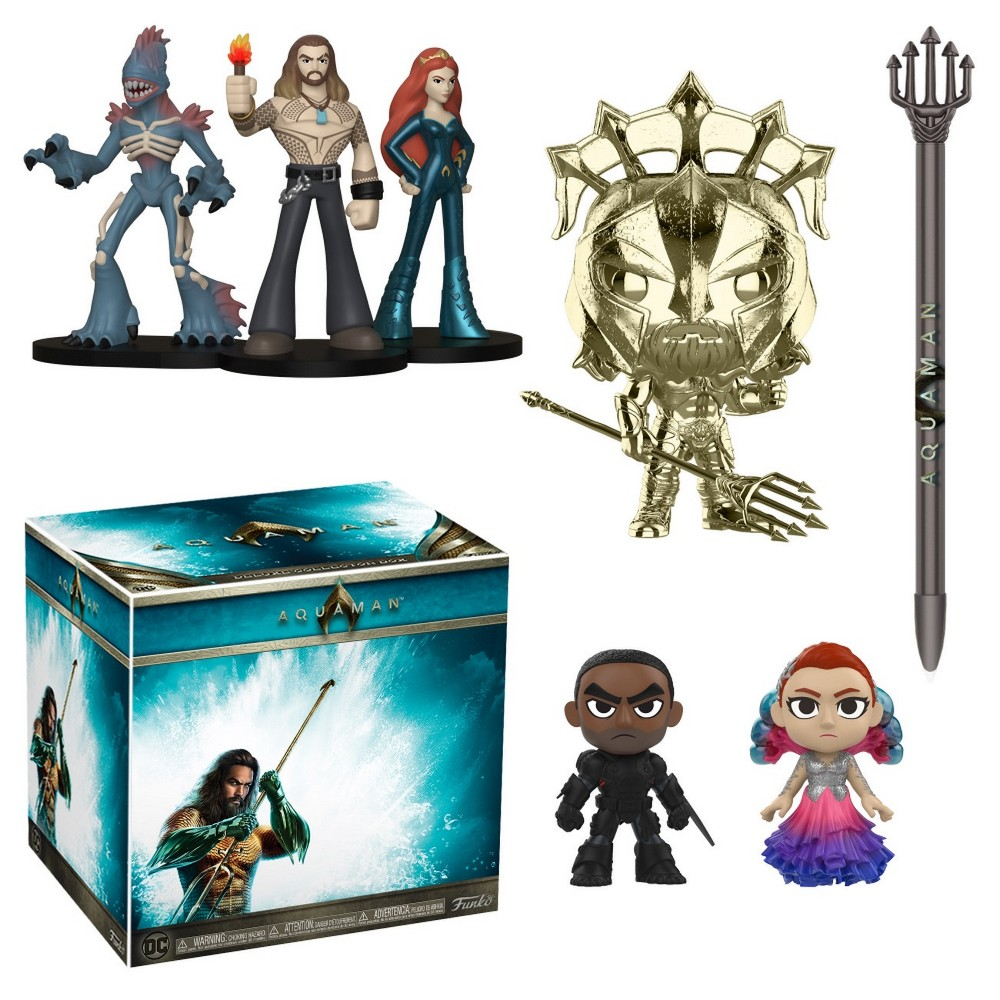 Image of Funko Aquaman DC Collectors Box