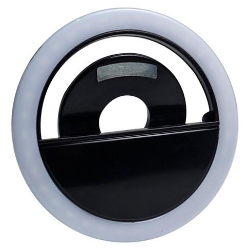 iSelfie Universal Mobile Phone LED Clip-On Camera Light - Black - image 1 of 2