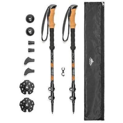 Cascade Mountain Tech Aluminim Quick Lock Trekking Poles