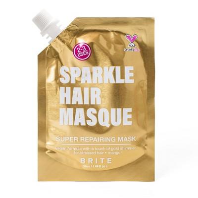 Brite Glitter Hair Mask Gold - 1.69 fl oz