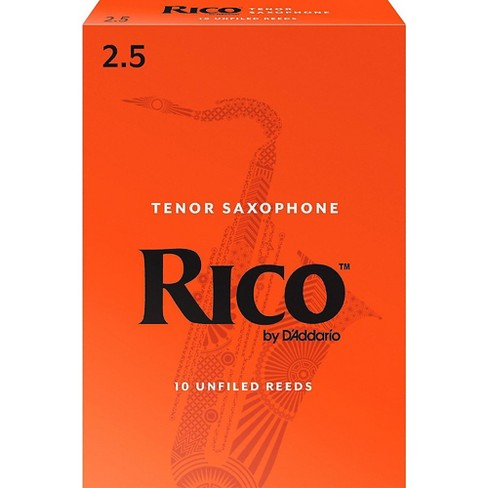 Rico Tenor Saxophone Reeds, Box of 10 - image 1 of 2