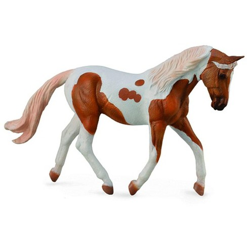 Breyer CollectA Series Palomino Pinto Mare Model Horse - image 1 of 1