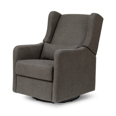 Carter's by DaVinci Arlo Recliner and Swivel Glider Performance - Charcoal Linen