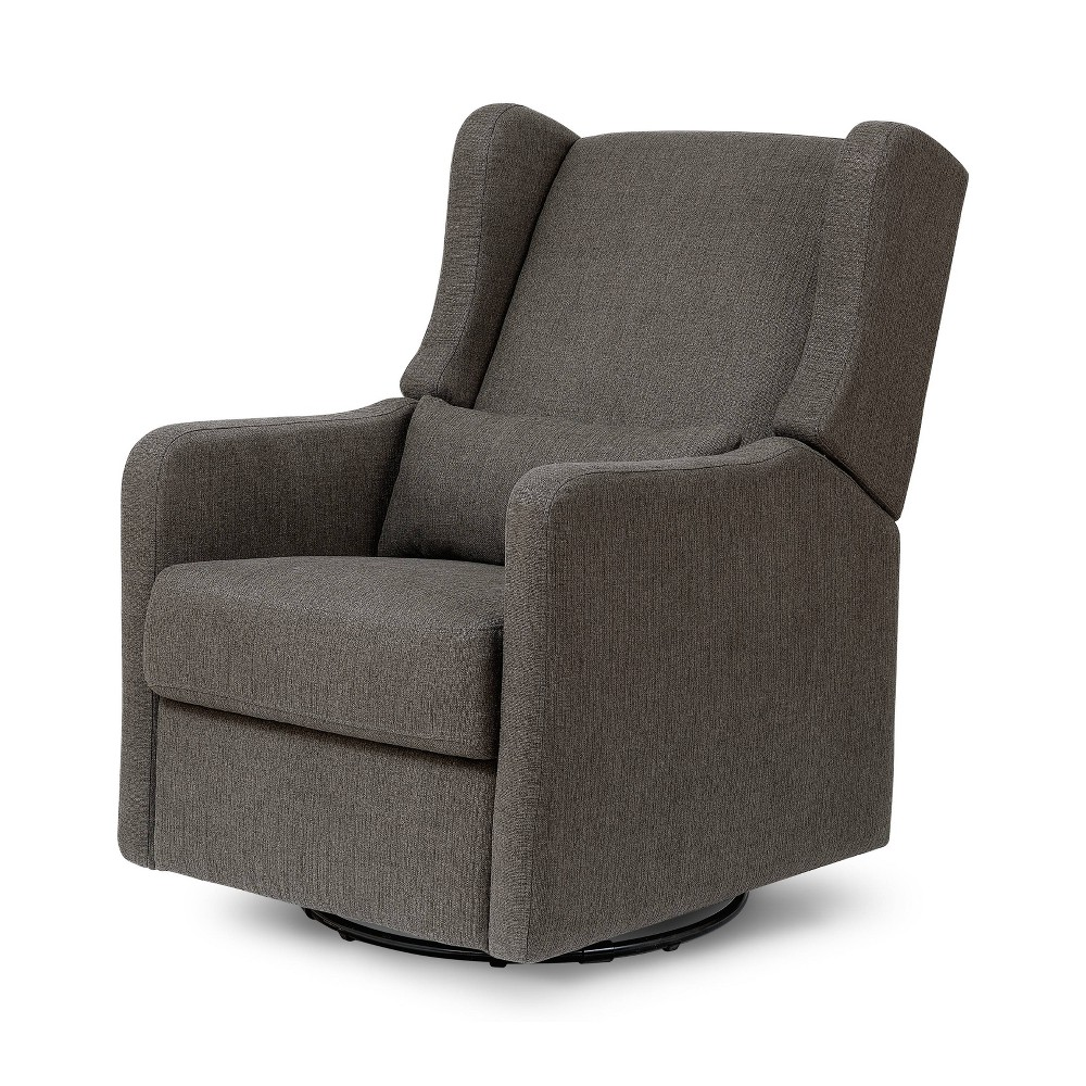 Image of Carter's by DaVinci Arlo Recliner and Swivel Glider Performance - Charcoal Linen