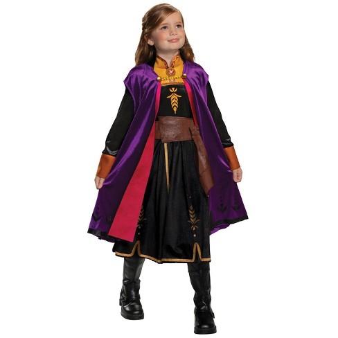 Kids' Frozen 2 Anna Deluxe Halloween Costume S (4-6) - image 1 of 3