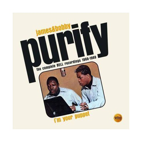 James  Purify &  Bobby - I'm Your Puppet: The Complete Bell Recordings 1966-1969 (CD) - image 1 of 1