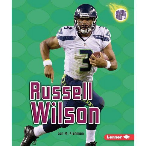 Russell Wilson - (Amazing Athletes) by  Jon M Fishman (Paperback) - image 1 of 1