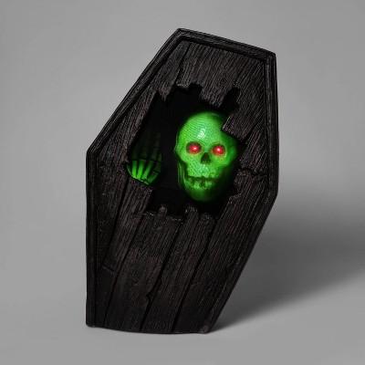 Animated Dug Up Coffin Halloween Decorative Prop - Hyde & EEK! Boutique™