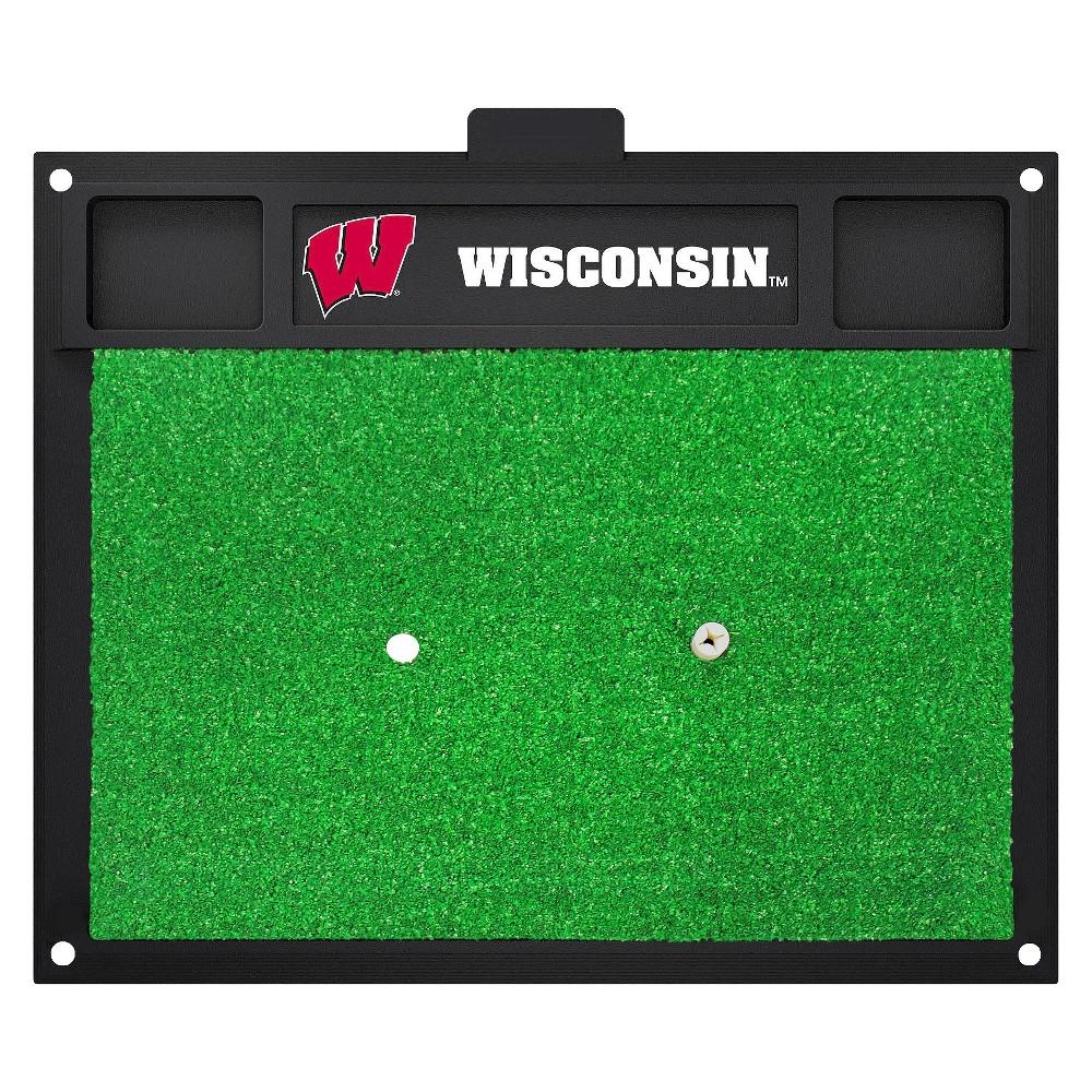 Wisconsin Badgers Fan mats Golf Hitting Mat