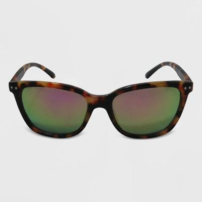 Women's Surfer Shade Plastic Sunglasses - Wild Fable™ Brown