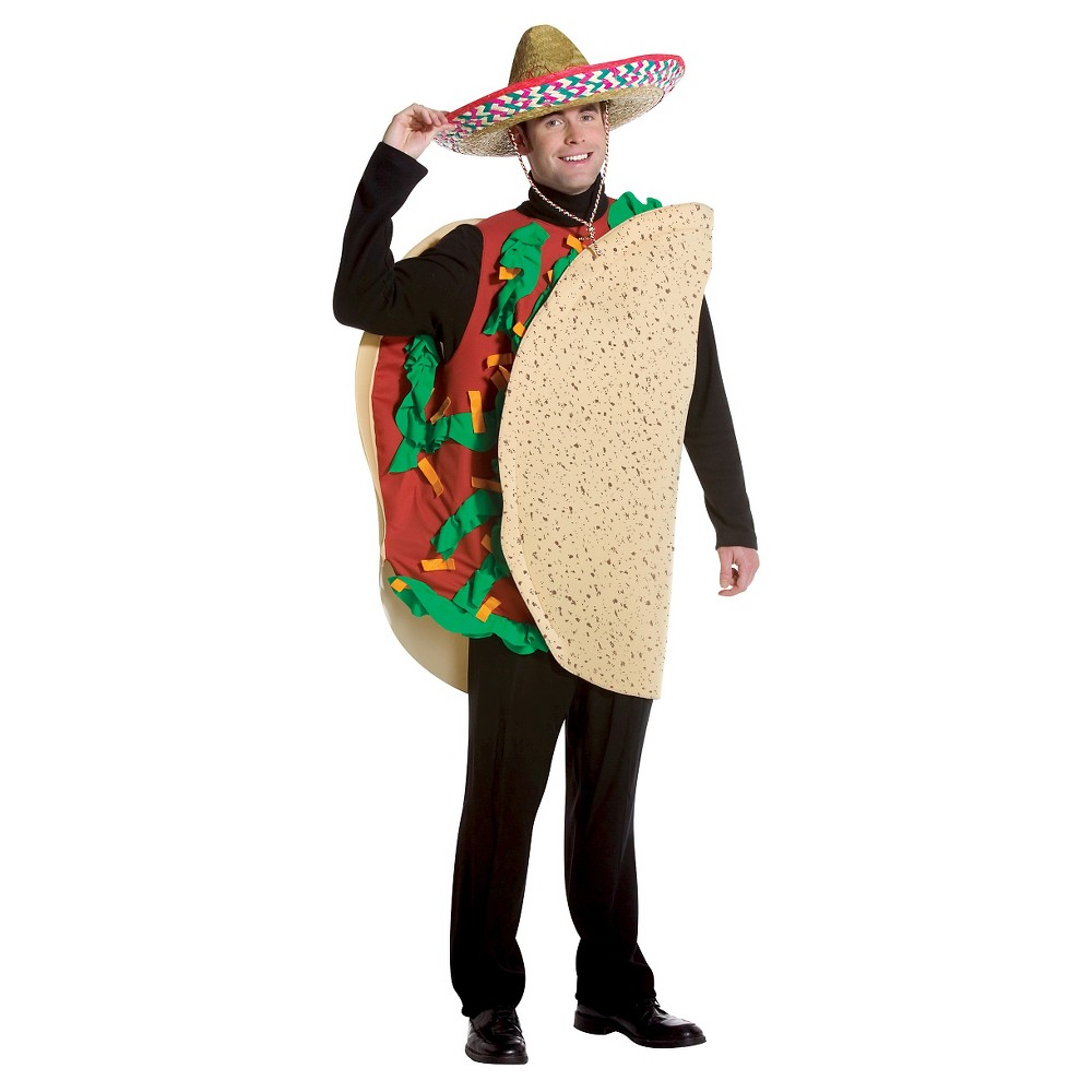 Adult Taco Costume - One Size, Adult Unisex