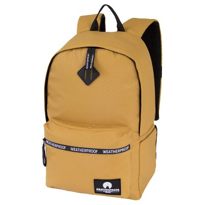 "Weatherproof 17"" Terrain Backpack   Yellow by Yellow"